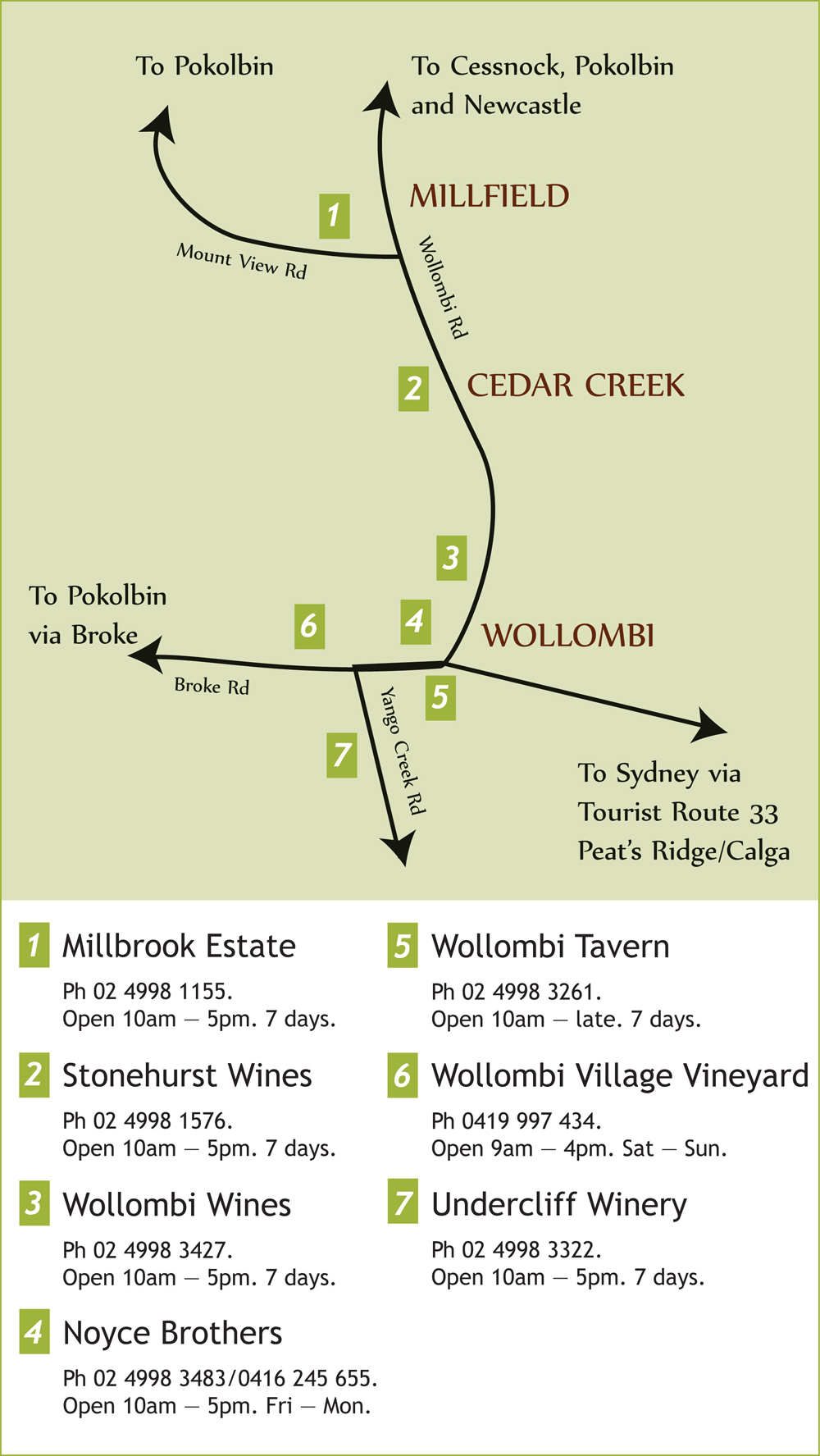 Hunter Valley Wine Tasting Boutique Vineyards Located